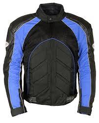 motorcycle racing jacket men s textile leather armored motorcycle jacket blue black