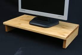 Desk Risers Uk Computer Monitor Screen Risers David Rodgers Furniture Maker