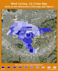 west covina ca map west covina crime rates and statistics neighborhoodscout