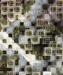 design gartenh user penda s modular thousand yards pavilion to headline 2019 beijing