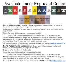 custom full color u0026 laser engraved name tags u0026 plates prism
