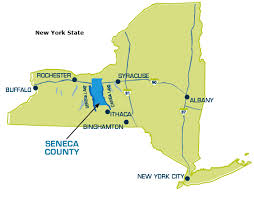 map of new city maps seneca county ida