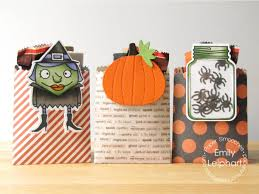 halloween bookmarks paper smooches halloween treat bags with removable bookmarks