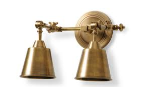 Two Light Wall Sconce The Well Appointed House Luxuries For The Home The Well