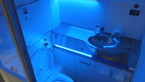 Uv Bathroom Light Boeing S Self Cleaning Lavatory Zaps Germs With Uv Light Cbs News