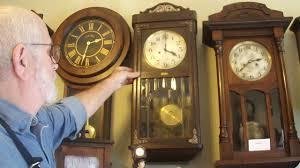 Barwick Grandfather Clock Antique German Box Clock Youtube