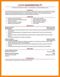 7 physical therapist resume sample letter adress