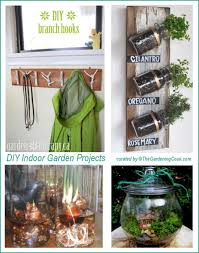 Build Your Own Indoor Garden - diy projects to decorate your home from top to bottom the