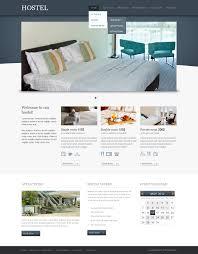 website template 42987 hostel hotel motel custom website template