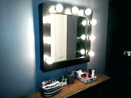wall mounted makeup mirror with lighted battery wall mounted lighted makeup mirror attractive bronze lighted makeup