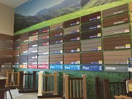 Composite Decking Brands Outdoor Living Schillings Deck Showroom