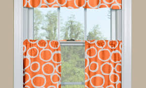 Damask Kitchen Curtains by Curtains Orange And White Curtains Extraordinary U201a Wondrous