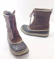 womens duck boots size 12 khombu mens size 12 juno brown duck boots steel shank