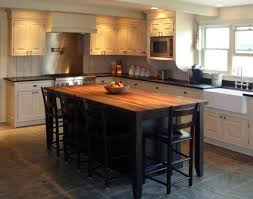 traditional kitchen island cinder block wall for a traditional kitchen with a kitchen island