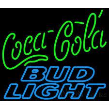 bud light neon light bud light neon coca cola green neon sign 10 0004 neon sign inc
