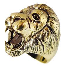 spirit halloween oro valley roaring lion ring spirit animal in bronze roaring lion and products