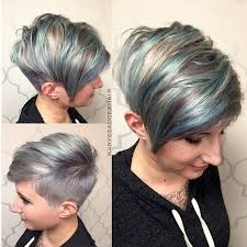long hair sweeped side fringe shaved adorable pixie haircut ideas with bangs popular haircuts