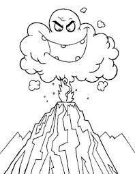 coloring pages volcano volcano coloring pages printable new download volcano coloring pages