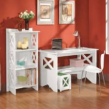 White Cottage Bookcase by Cottage Desk And Bookcase White