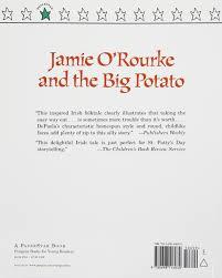 jamie o u0027rourke and the big potato an irish folktale amazon co uk