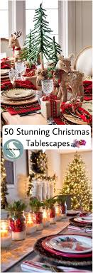 christmas tabletop decoration ideas 1224 best christmas table decorations images on