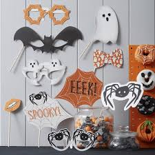 Halloween Photo Booth Props Spooky Halloween Ghost Garland Spooky Spider Ginger Ray