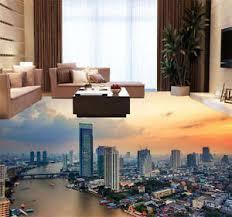 3d flooring bangkok city thailand 3d floor mural photo flooring wallpaper home