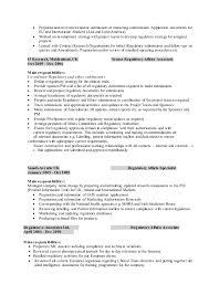 Regulatory Affairs Associate Resume Hafiz Cv 2016