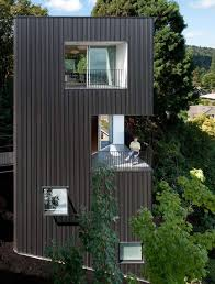 Small Houses Architecture by Tower House By Benjamin Waechter Architects