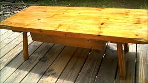 how to refinish a table youtube