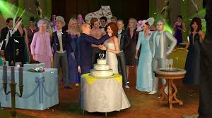 wedding cake the sims 4 sims 3 wedding vs sims 4 the sims forums