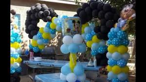 baby mickey balloon creation for a birthday party youtube