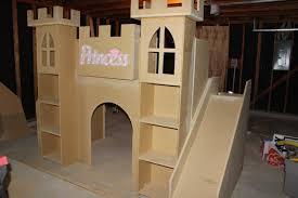girls castle loft bed princess castle bed decorating new house pinterest castle