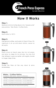espresso maker how it works french press express coffee maker 1 l u2013 double wall stainless