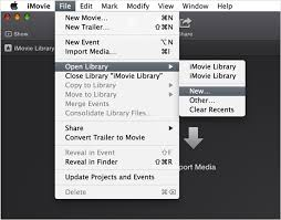 to save imovie projects on mac