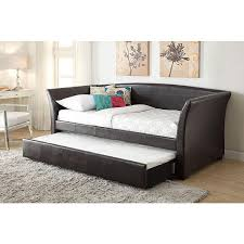 faux leather daybed with trundle uk bazzle me