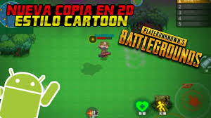pubg 2d descarga nueva copia de pubg en 2d estilo cartoon para android