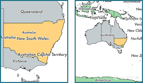 map of new south wales where is new south wales state where is new south wales located