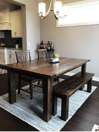 chunky farmhouse table legs farmhouse dining tables and benches