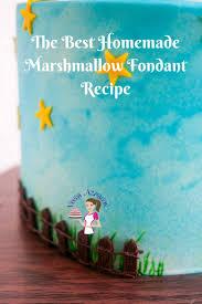 best homemade marshmallow fondant recipe veena azmanov