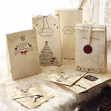 christmas paper bags unbranded christmas gift bags ebay