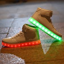 light shoes for mens light up high tip sneakers dealbola com