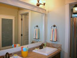 Trim For Bathroom Mirror by Update Any Mirror With Trim Color Me Southern