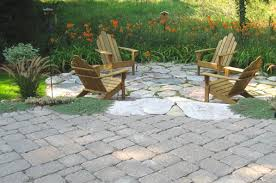 Natural Stone Patio Ideas Great Patio Paver Stones With Aspinalls Landscaping Concrete Paver