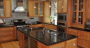 what color cabinets go with black granite countertops how to choose the right granite for kitchen countertops