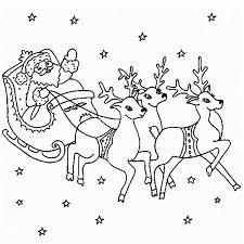 coloring pages to print of santa santa and reindeer coloring pages getcoloringpages com