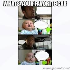 The Rock Meme Car - whats your favorite car the rock and baby meme generator
