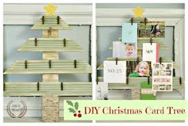 christmas card display holder diy christmas card display holderdiy show diy decorating and