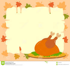 thanksgiving background with cooked turkey royalty free stock
