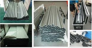 pipe and drape backdrop decorative aluminum pipe threaded and drape portable pipe and